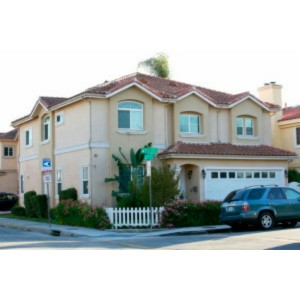 Gloria Govan's home in Los Angeles, California.