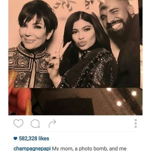 Celebrity Christmas Round Up Drake Kardashians