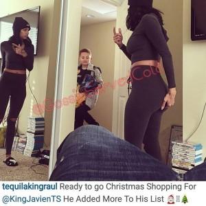 Celebrity Christmas Round Up Erica Mena