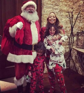 Celebrity Christmas Round Up Mariah Carey