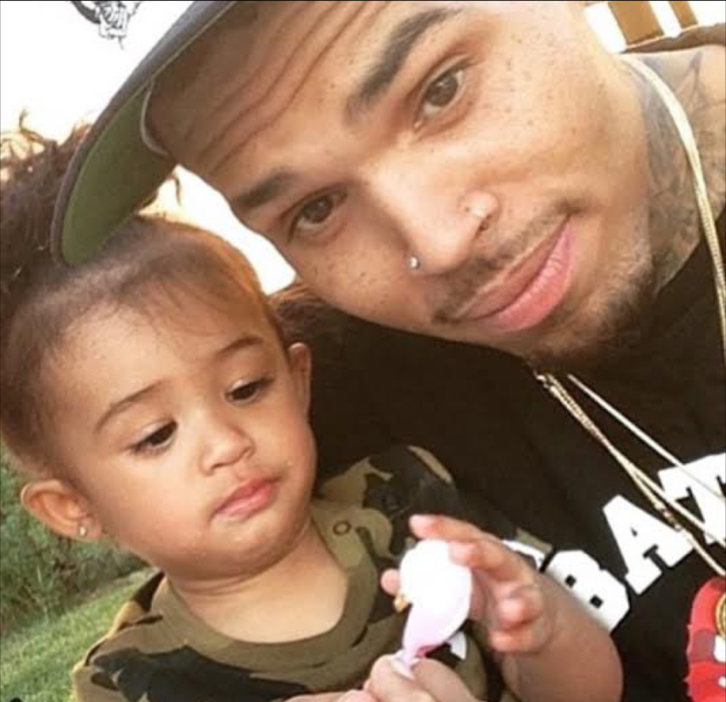 chris brown daughter - 590×591