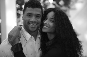 Christmas Ciara and Russell Wilson