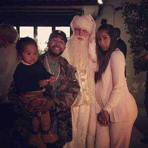 Christmas Omarion Apryl Jones Megaa