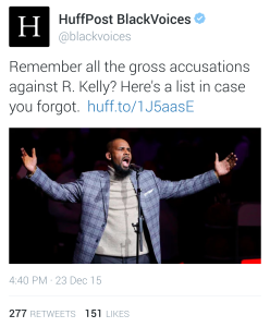 R. Kelly Huffington Post Black Voices