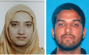 Tashfeen Malik, 27, and her husband Syed Rizwan Farook, 28, were both killed in a subsequent shootout with police in San Bernardino, CA on 2 December 2015, after they killed 14 people and wounded 21 others during a holiday party at the Inland Regional Center, a social services agency.