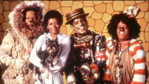 1978's The Wiz, staring Diana Ross, Michael Jackson, Nipsey Russell, and Ted Ross.