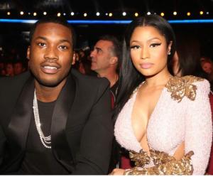 Meek Mill, 28, and his girlfriend Nicki Minaj, 33.