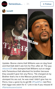 Katt Williams jumped 2016
