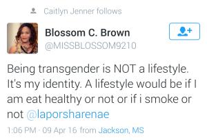 Blossom Brown Tweet Laporsha