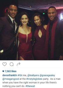 Devon Franklin Trai Byers Grace Gealey Meagan Good
