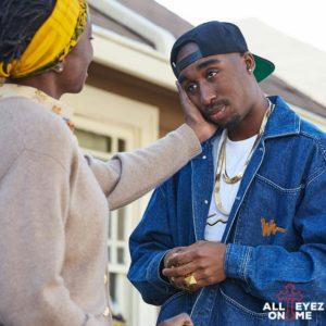 All Eyez On Me biopic tupac and afeni