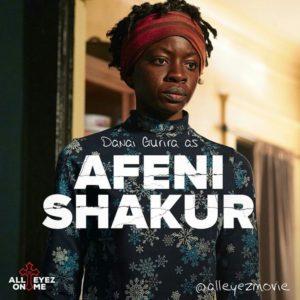 Danai Gurira as Afeni Shakur