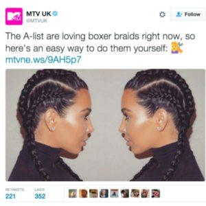Kim Kardashian cultural appropriation