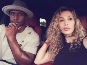 Reggie Bush and wife Lilit Avagyan-Bush.